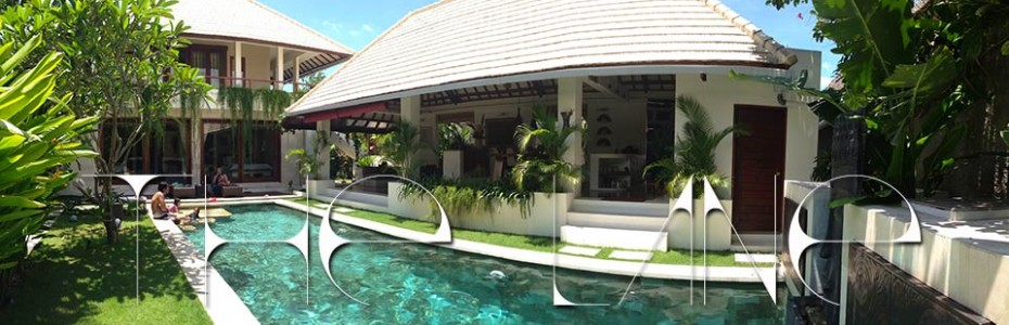 The Lane Villa Pool daytime